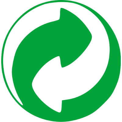 Logo Het Groene Punt - Verpakkingen van Nutri-Bel bevatten het Groene Punt logo