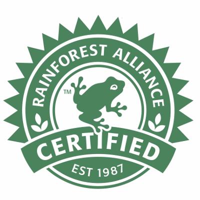 Afbeeldingsresultaat voor rainforest alliance logo